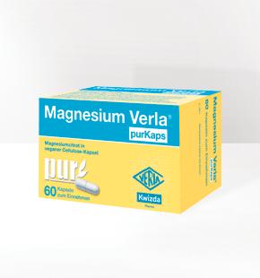 MAGNESIUM VERLA<sup>®</sup> PurKaps