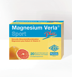 MAGNESIUM VERLA<sup>®</sup>  Sport Plus