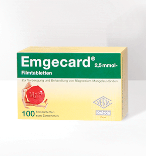 EMGECARD<sup>®</sup>  2,5 mmol